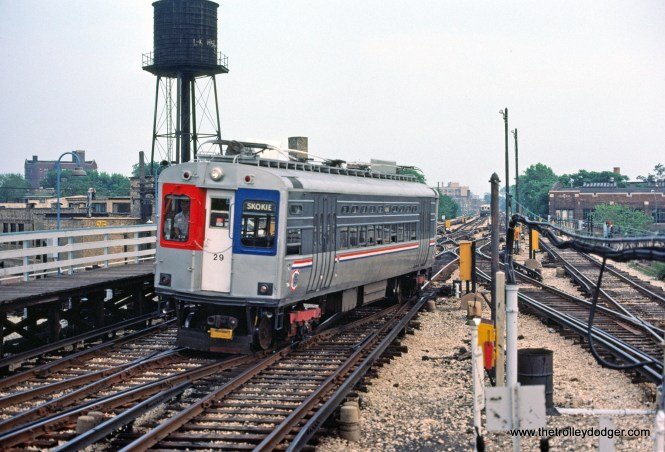 CTA 29 Skokie Swift Howard Terminal 7-1981