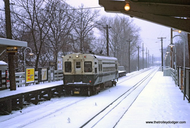 CTA 1-50 series Purple Line Isabella Station 1-1970
