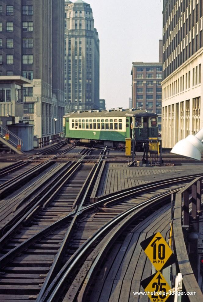CTA 4455 Evanston Express Lake-Wells 9-1971