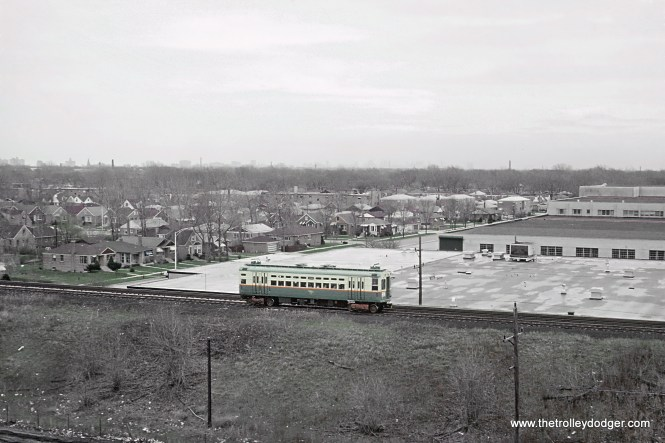 CTA Skokie Swift, Skokie, IL May 1964