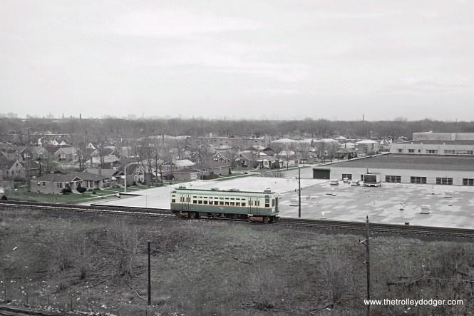 CTA Skokie Swift, Skokie, IL May 1964