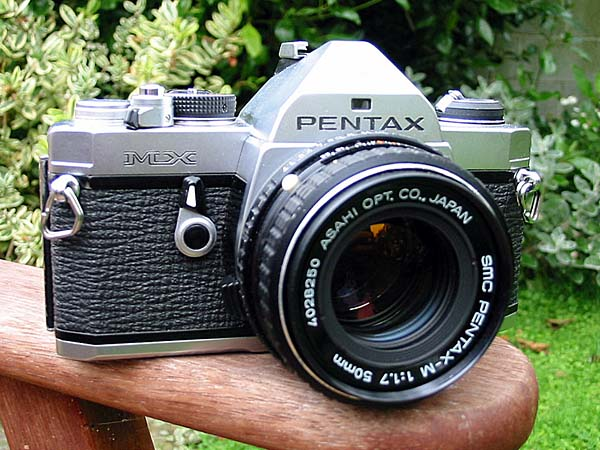Jeff bought his first Pentax MX camera at Helix in 1979, and continued using this model for the rest of his career.