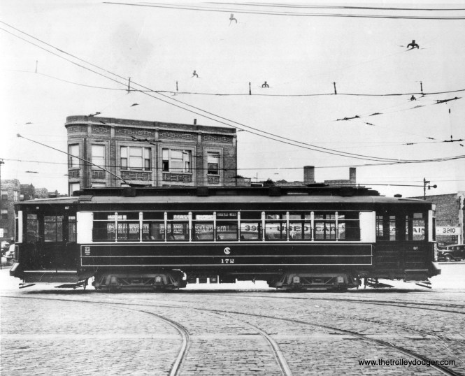 CSL Pullman 172. Daniel Joseph has identified this as the intersection of Ogden, Cermak, and Springfield.