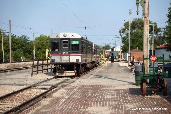 CTA 6655-6656 were also running.