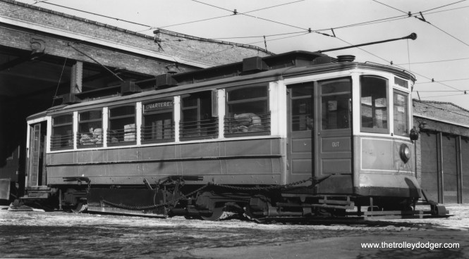 CSL 1266, when it was being used as a salt car.(William Shapotkin Collection)