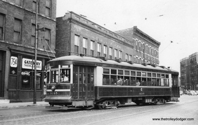 CSL 3245 is signed for Pershing Road (39th Street). (William Shapotkin Collection)