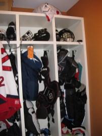 How I kept hockey equipment from taking over my house