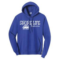 Shore Life Radio Clam Unisex Hooded Sweatshirt, The Troprock Shop