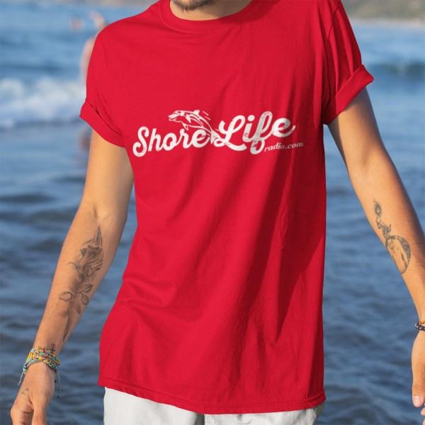 Shore Life Radio Dolphin Logo Unisex T-Shirt