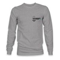 Anchor Radio logo long sleeve t-shirt Pints Up on the back