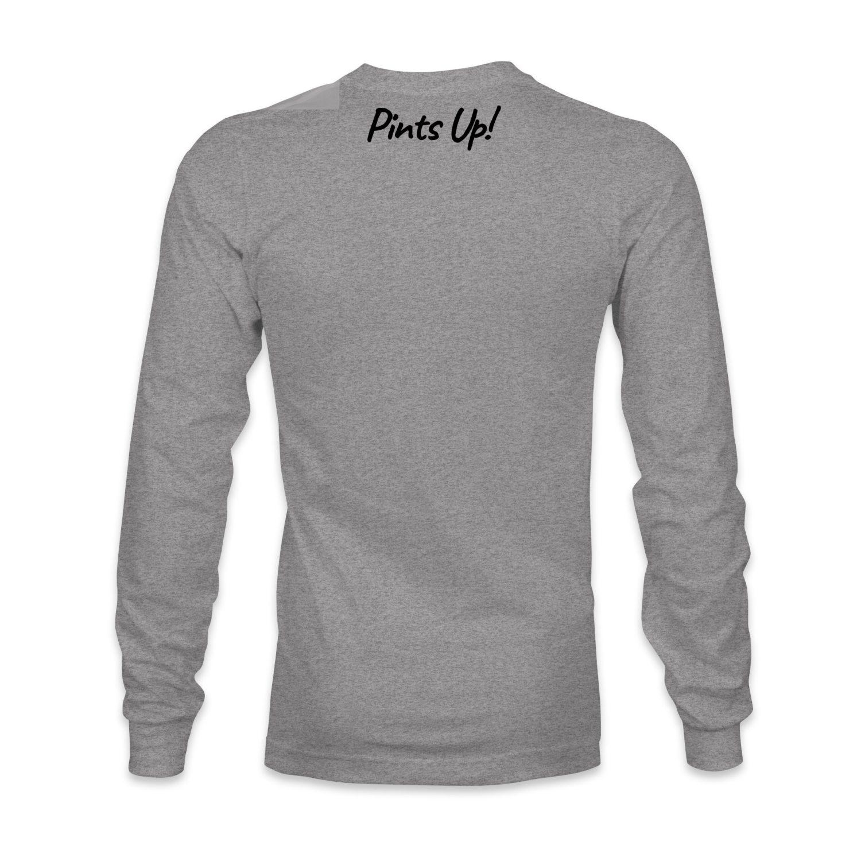 Anchor Radio logo long sleeve t-shirt Pints Up on the back, The Troprock Shop