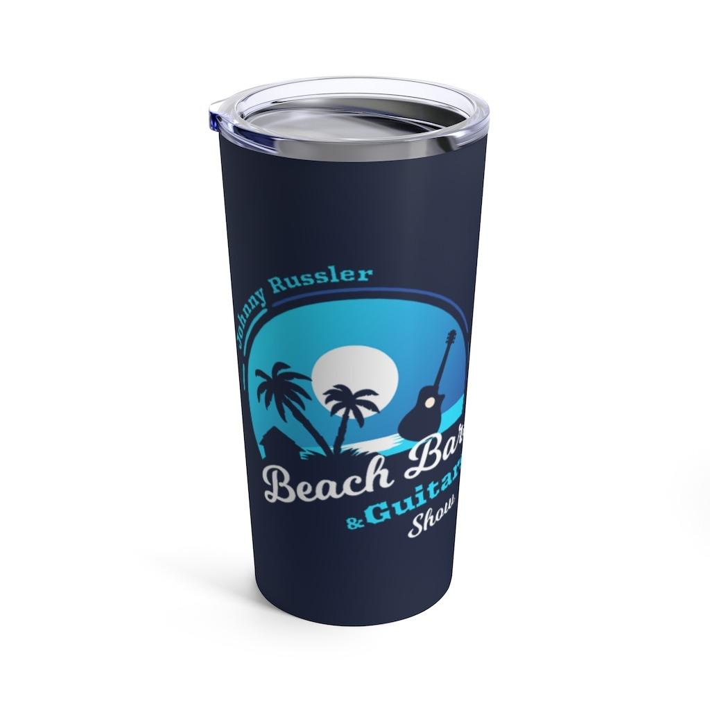 Beach Bars and Guitars Show Tumbler 20oz, The Troprock Shop