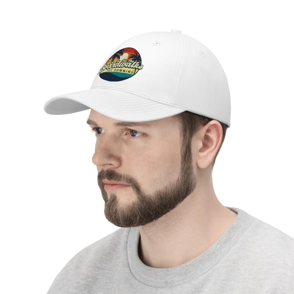 Joe Downing Boardwalks Unisex Twill Hat, The Troprock Shop