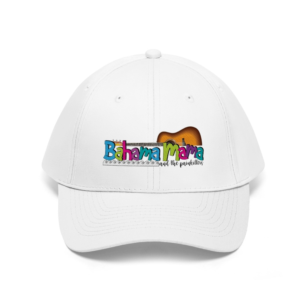 Bahama  Mama Unisex Twill Hat, The Troprock Shop