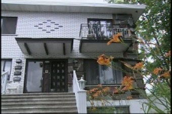 Shafia's duplex in St-Leonard