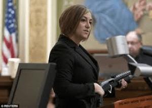 Prosecution shows gun