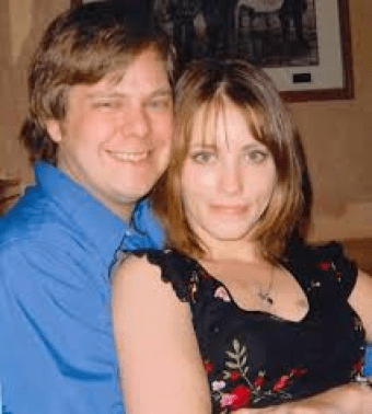 Caroline & ex-husband Keith Small