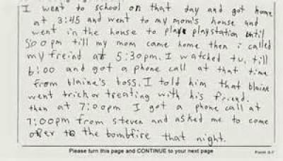Brendan's coerced confession