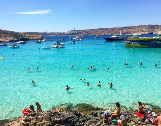 Blue Lagoon - 3 DAYS IN MALTA : Itinerary and things to do.