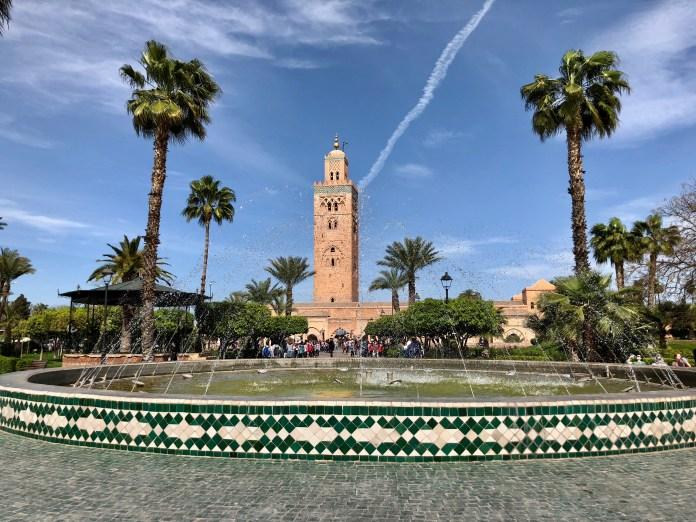 Koutoubia Mosque.