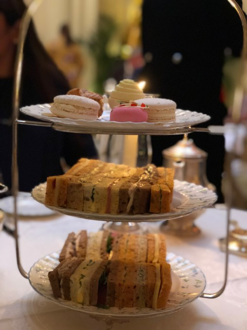 Tea at The Ritz - Silver service at Palm Court