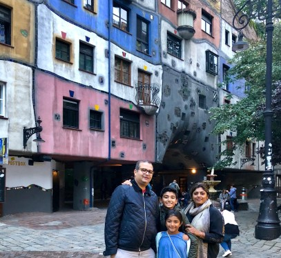 Vienna in 3 days -Hundertwasser Haus