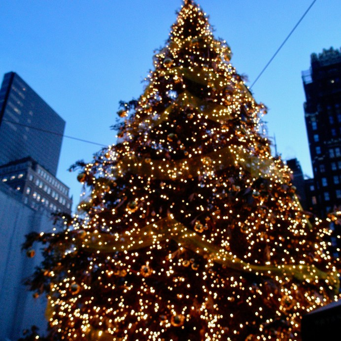 Christmas Tree NYC