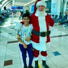 Flying with Santa