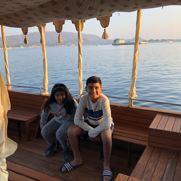 Boat ride Lake Pichola