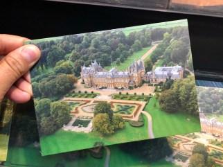 Waddesdon Manor aerial view