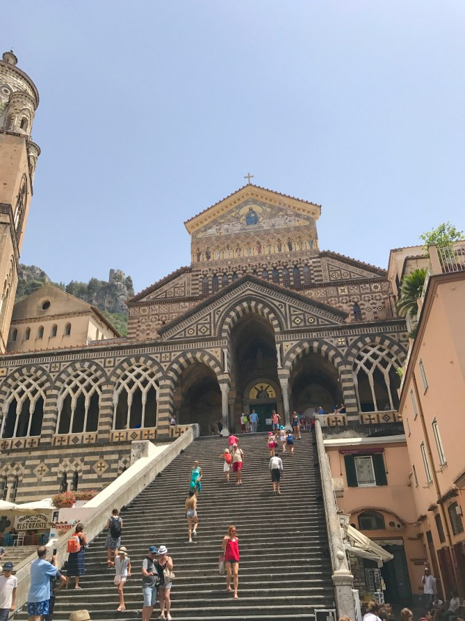 Amalfi town centre