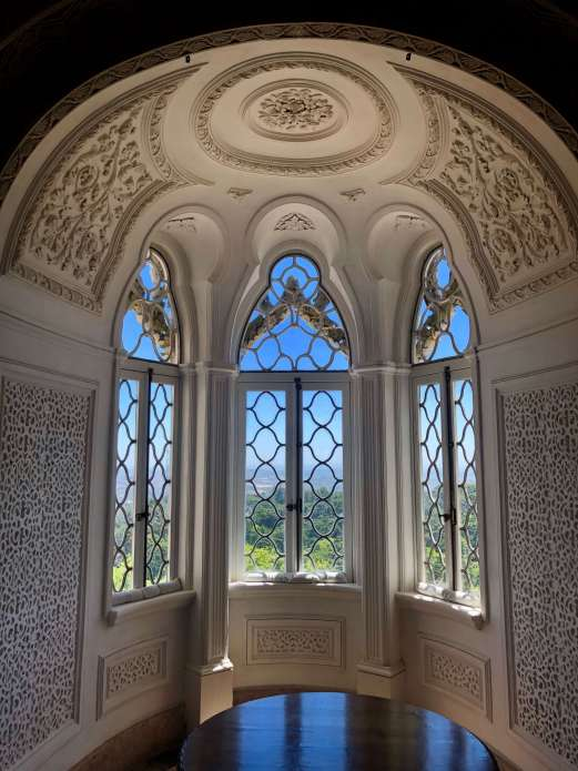 Interior of Pena Palace