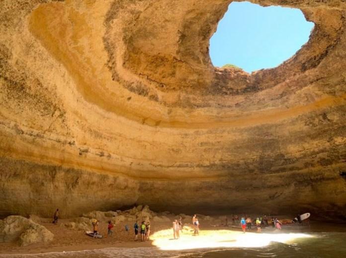 Benagil Caves.
