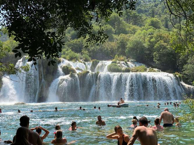 Krka National Park - Best of Croatia in 10 days.