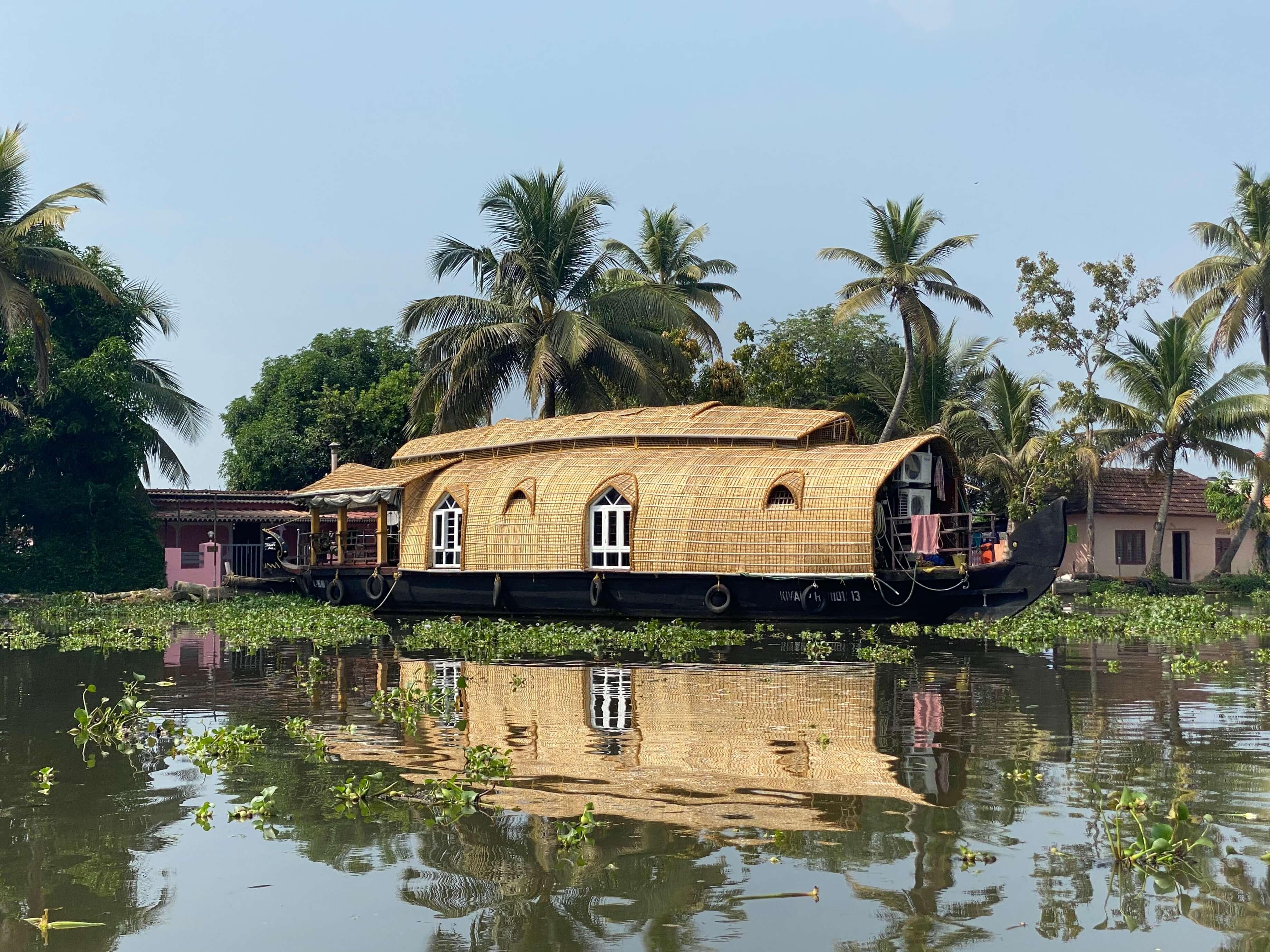 Kerala Backwaters Houseboat in Alleppey.