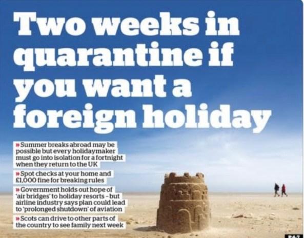 Coronavirus - When can I go on Holiday