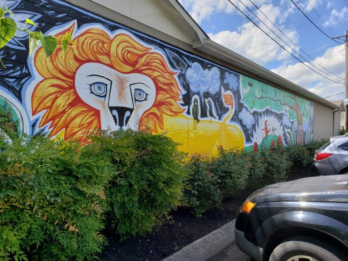 Street Art Cookeville Tennessee