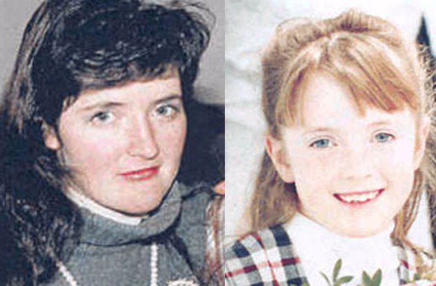 Image of Jane and Cathryn Johnson: murder victims in Turner, Valley Alberta