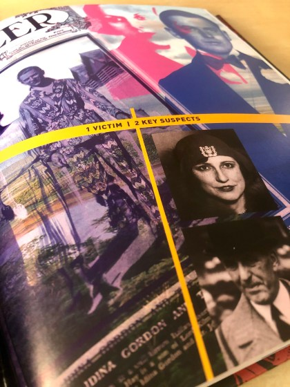 Photo of the detail inside Unsolved Murders