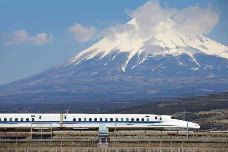 Mt Fuji trem bala