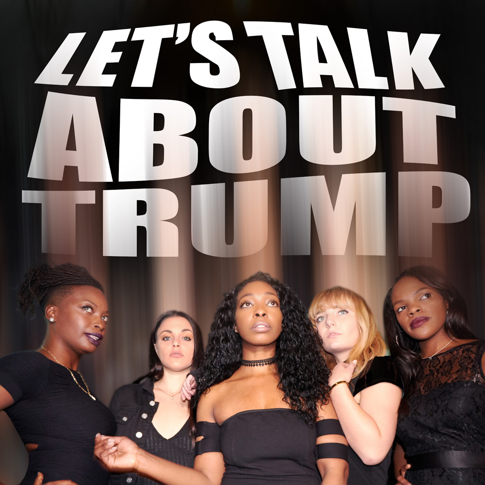 LET'S TALK ABOUT TRUMP - THE TRUMPETTES - ALBUM COVER1