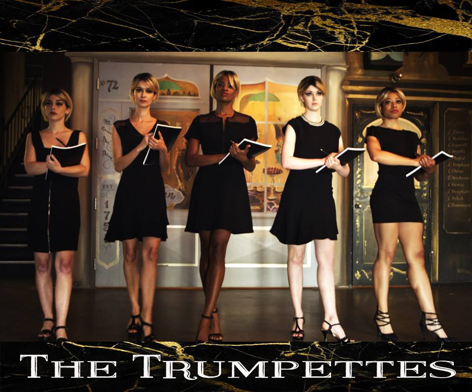 TRUMPETTES NEW DANCING LOGO