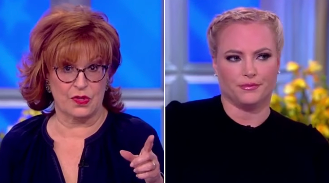 """VIDEO: Megan McCain and Joy Behar Fight On """"The View"""""""