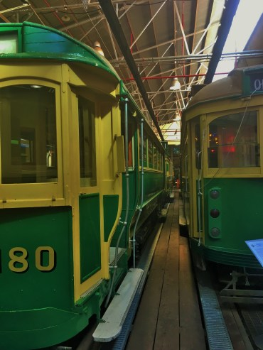 Line trams