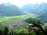 View from Harder Kulm of Interlaken