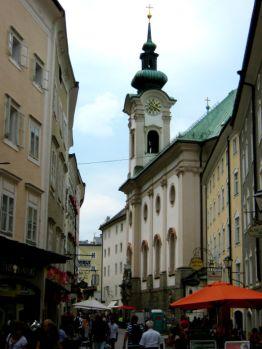 Typical Salzburg street