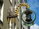 Zara iron guild sign on Getreidegasse