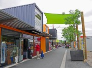 Containers used as shops in the Re:Start Mall - Things to Do in Christchurch - The Trusted Traveller