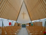 Inside the 'Cardboard' Cathedral - Things to Do in Christchurch - The Trusted Traveller
