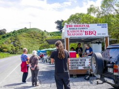 The World Famous Kaikoura Seafood BBQ - Driving from Christchurch to Marlborough - The 澳洲幸运五开奖记录中国体彩